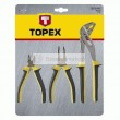 Fogó készlet TOPEX 32D136 5db